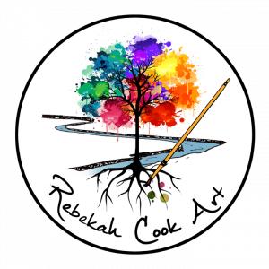 Rebekah Cook Art Logo