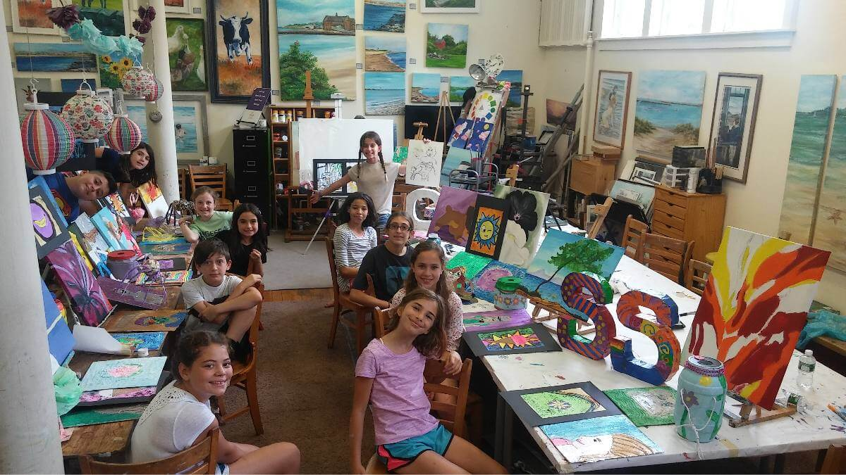 Rebekah Cook Art Classes RI