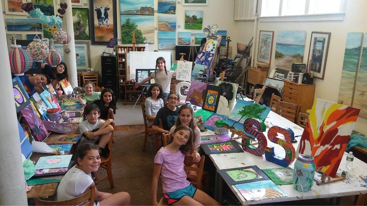 Rebekah Cook Art Classes RI